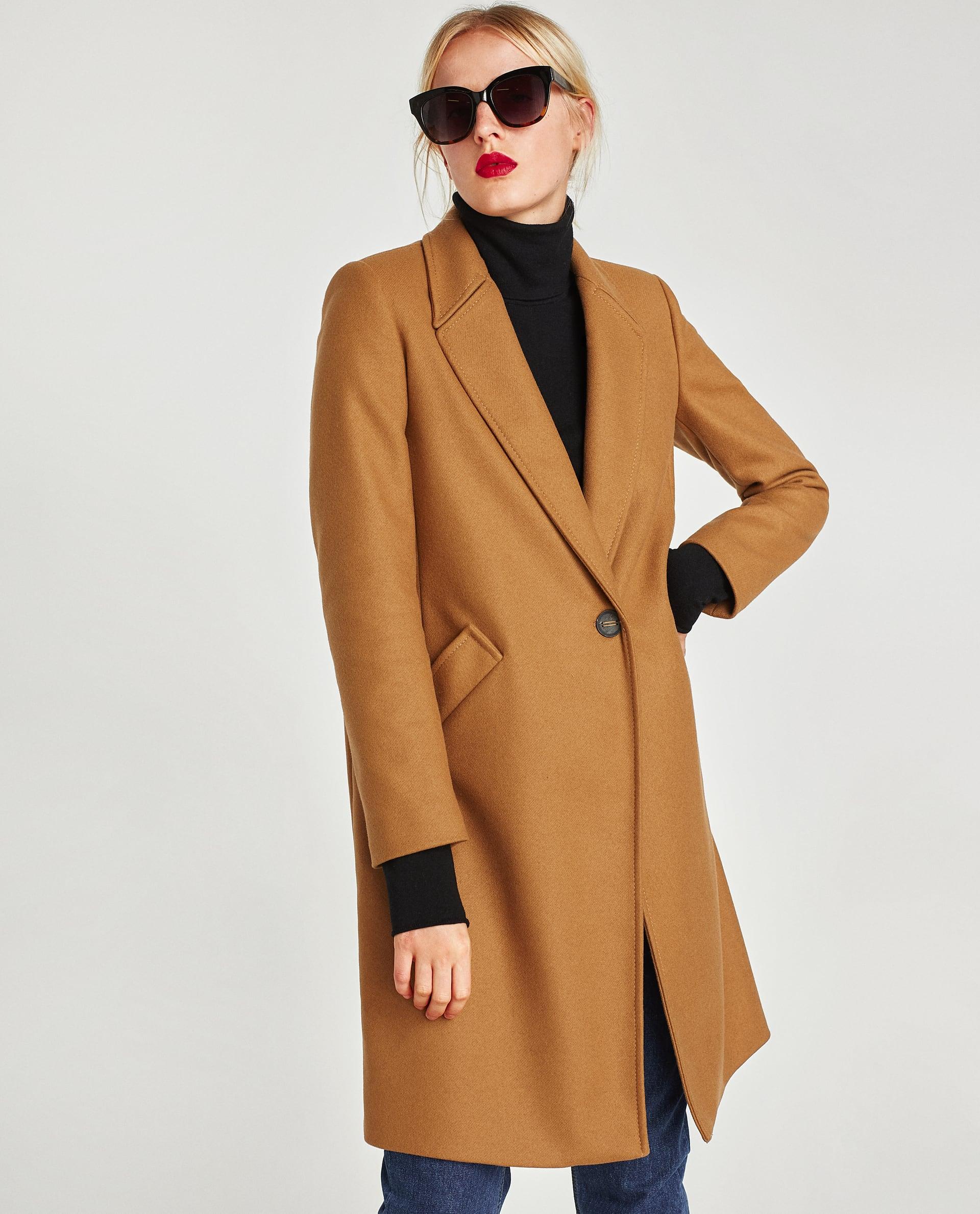70290cd26e5 Must have! Kabát v barvě velbloudí srsti - Ženy Dívky