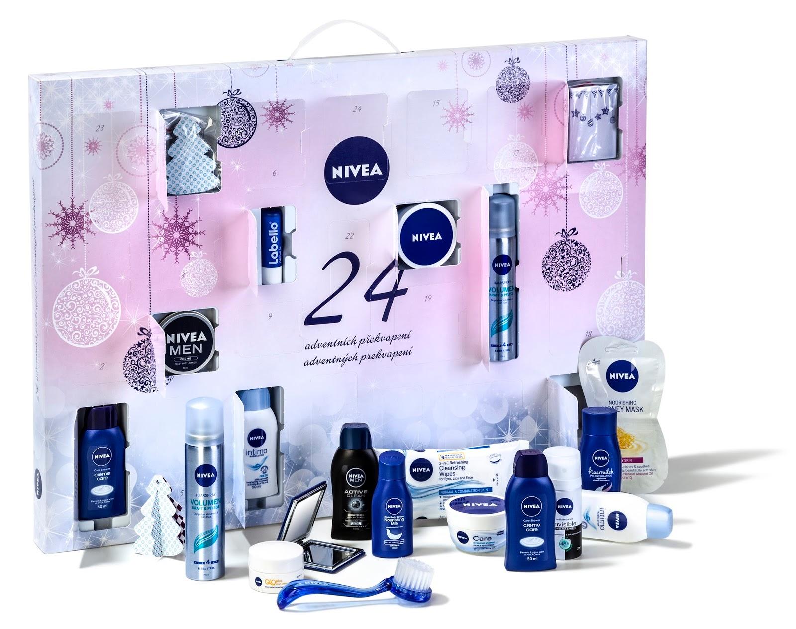 nivea adventni kalendar Kosmetika, pamlsky i nářadí: tipy na originální adventní kalendáře  nivea adventni kalendar