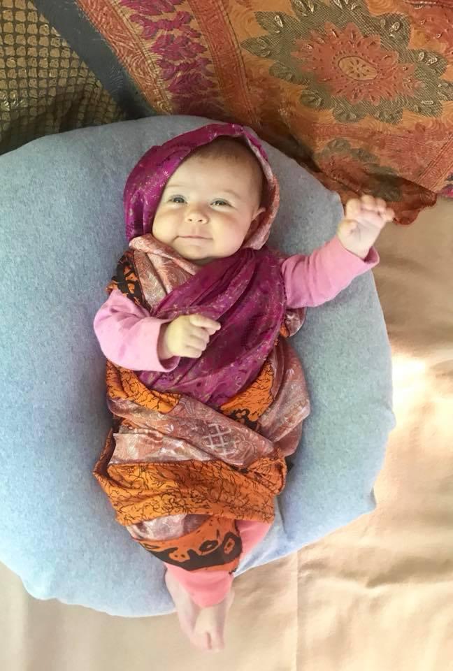 Liberty jako pákistánská bojovnice za lidská práva Malála Júsufza. c9e13e9194