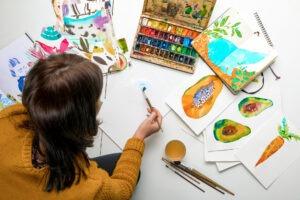 Kreativita posiluje sebelásku a zabíjí stres