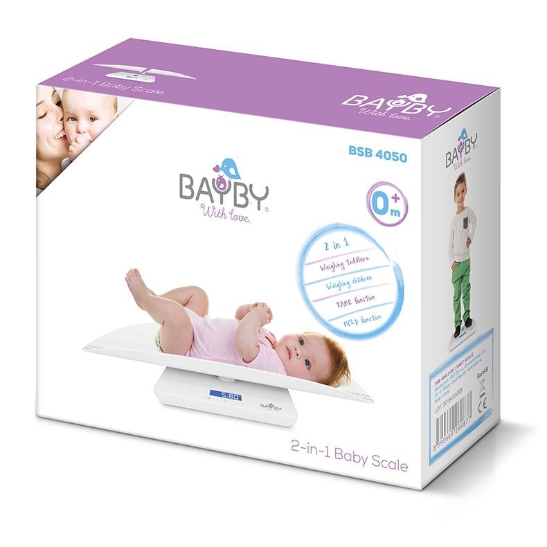 Dětská váha 2v1 Bayby BSB 4050