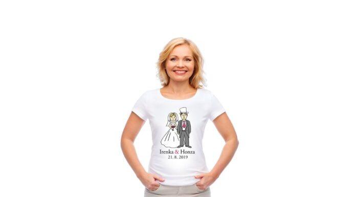 Svatební triko dámské