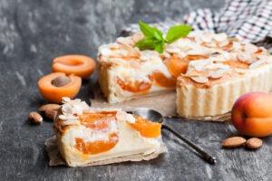 Vyzkoušejte meruňkový koláč s tvarohem