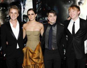 Grint: Mezi Hermionou a Dracem to na place jiskřilo