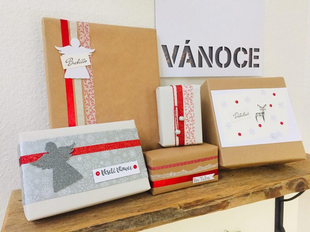 Tipy jak originálně zabalit vánoční dárky