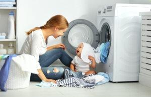 Devět tipů jak si usnadnit praní a sušení prádla