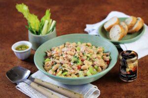Dopřejte tělu odlehčený jídelníček. Vyzkoušejte salát s fazolemi