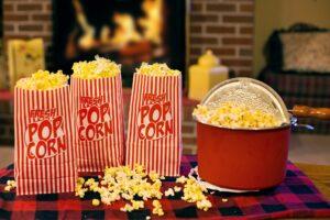 Popcorn: pražená kukuřice, kterou uctívali indiáni