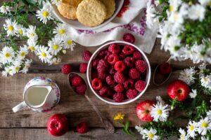 Malinové menu plné netradičních letních chutí