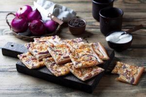 Cibulový koláč: skvělý pokrm pro chladné dny